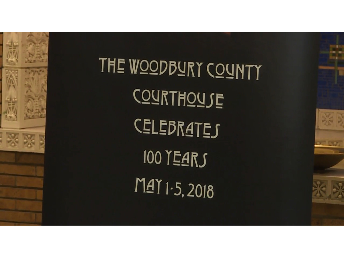 Woodbury County Courthouse unveils plans for 100th Anniversary celebration