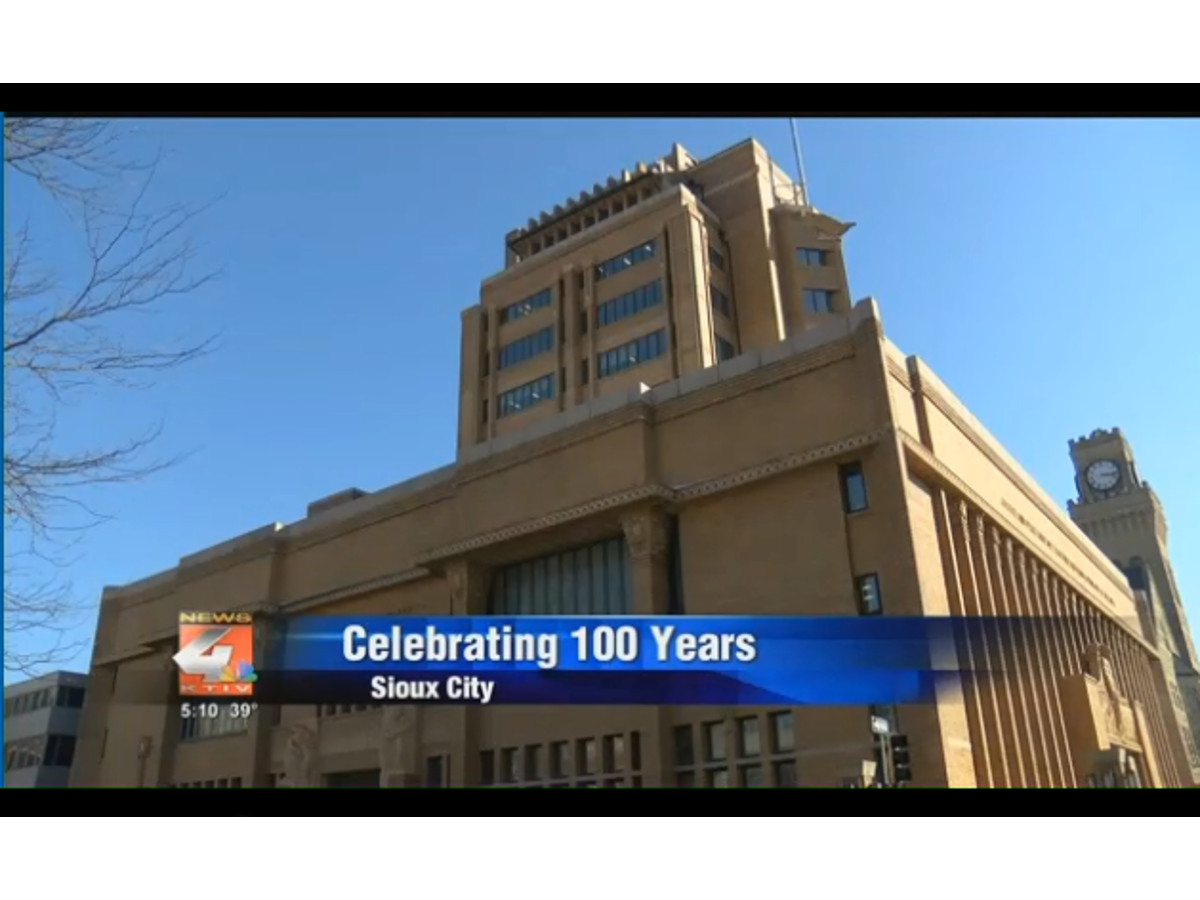 Woodbury County Courthouse celebrates 100 years
